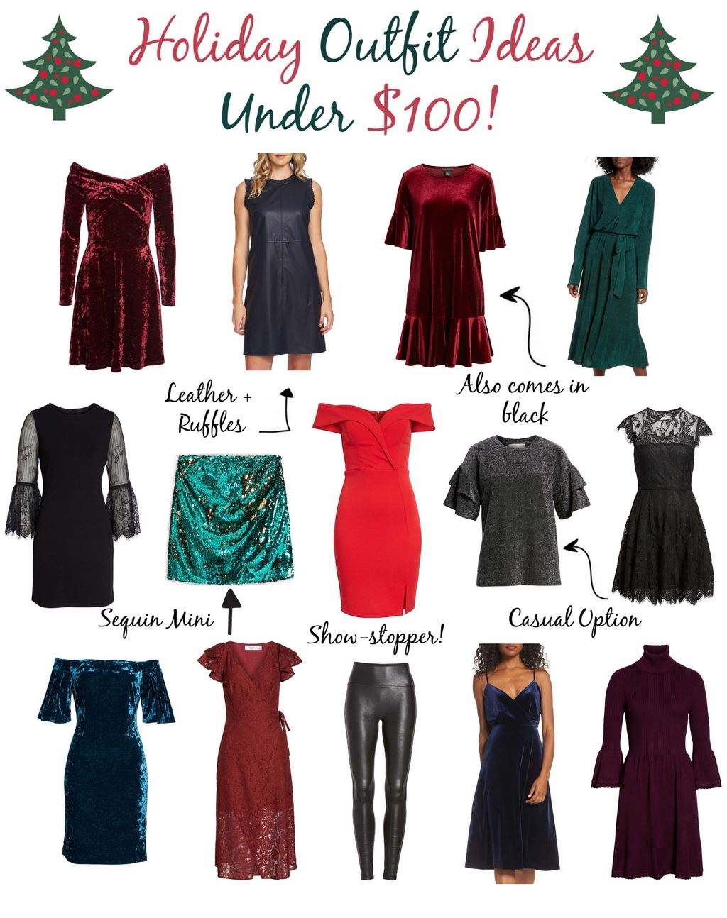 f129fd7d7703c Holiday Party Outfit Ideas Under  100 - Simply Sweet Storeys